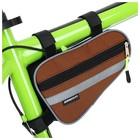 Велосумка под раму малая Dream Bike «МАСТЕР», цвет оранжевый - Фото 3