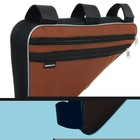 Велосумка подрамная большая Dream Bike, цвет оранжевый - Фото 2