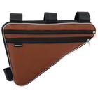 Велосумка подрамная большая Dream Bike, цвет оранжевый - Фото 3