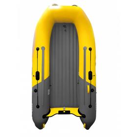 Надувная лодка Boatsman 300AS НДНД Sport, цвет графитовый/жёлтый