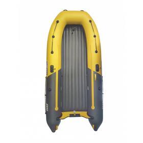 Надувная лодка Boatsman 320AS НДНД Sport, цвет графитовый/жёлтый