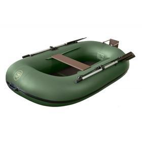 Надувная лодка BoatMaster 250 «Эгоист люкс», цвет оливковый