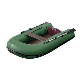 Надувная лодка BoatMaster 250K, цвет оливковый