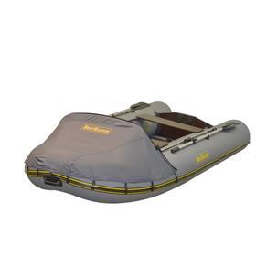 Надувная лодка BoatMaster 310T люкс+тент, цвет серый