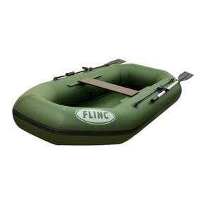 Надувная лодка FLINC F240L, цвет оливковый