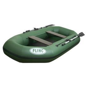 Надувная лодка FLINC F260L, цвет оливковый