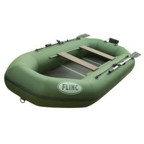 Надувная лодка FLINC F300TL, цвет оливковый