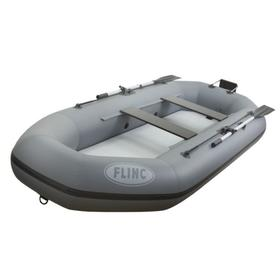Надувная лодка FLINC F300TLA, цвет серый