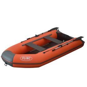 Надувная лодка FLINC FT290K, цвет красный/синий