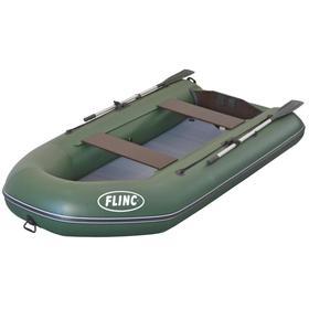 Надувная лодка FLINC FT290KA, цвет оливковый