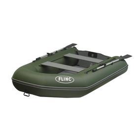 Надувная лодка FLINC FT290LA, цвет оливковый