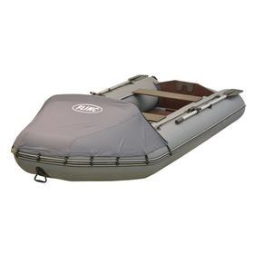 Надувная лодка FLINC FT320LA люкс+тент, цвет серый