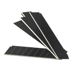 Лезвия сегментированные PATRIOT CBB-181, черные, 18 мм, 10 шт