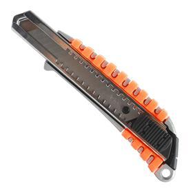 Нож строительный PATRIOT CKP-183, сегментированное лезвие, автофиксатор, 18 мм