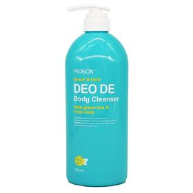 Гель для душа ЛИМОН/МЯТА Deo De Body Cleanser, 750 мл