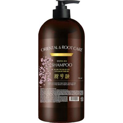 Шампунь для волос ТРАВЫ Institut-beaute Oriental Root Care Shampoo, 750 мл - Фото 1