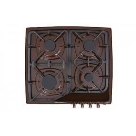 Варочная поверхность Gefest СН 1210 К7, газовая, 4 конфорки, коричневая