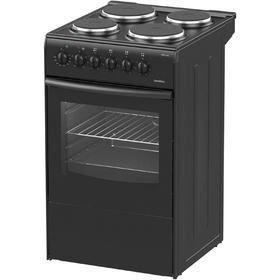 Плита Darina S ЕM 341 404 At, электрическая, 4 конфорки, 50 л, чёрная