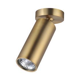 Светильник NINO, 1x50Вт GU10, цвет золото, IP20