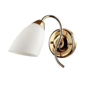 Бра DARLENE, 1x40Вт E14, цвет золото, IP20
