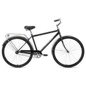 """Велосипед 28"""" Forward Dortmund 1.0, цвет черный/серебристый, размер 19"""""""