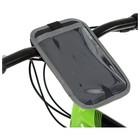 Велосумка Dream Bike «ПОИНТ-2» на руль для телефона, увеличенная, цвет серый - Фото 3