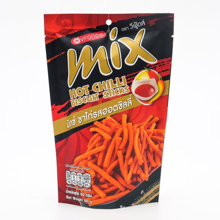 Палочки хрустящие VFOODS MIX со вкусом чили перца, 60 г