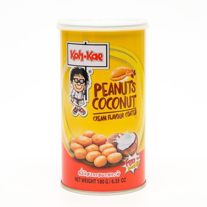 Арахис в панировке KOH-KAE, вкус кокоса, 180 г
