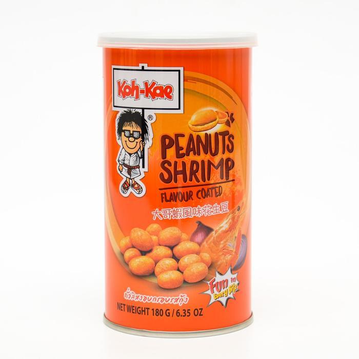 Арахис в панировке KOH-KAE, вкус креветки, 180 г