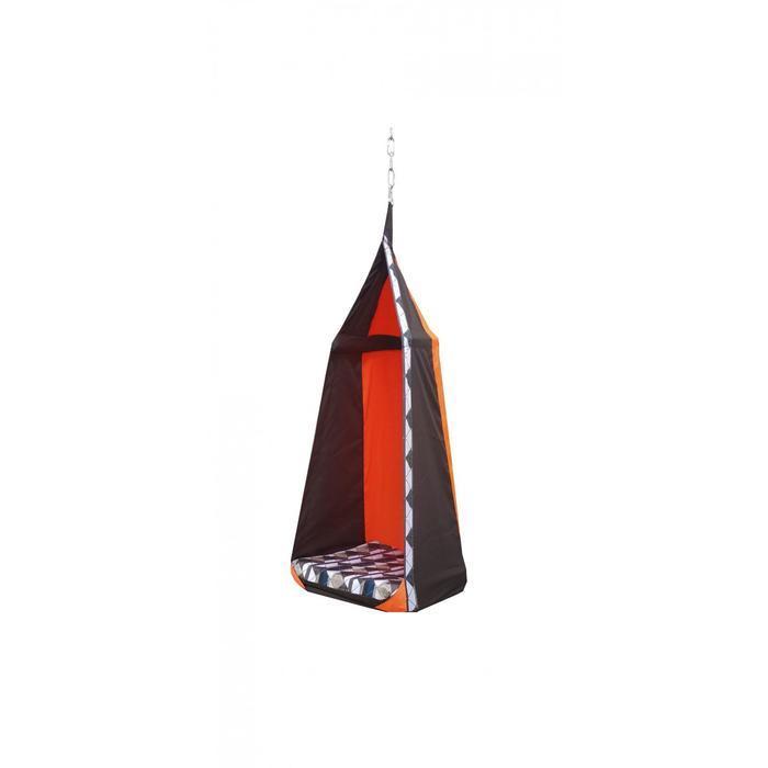 """Гамак тканевый """"Перфекто"""" коричнево-оранжевый, 56 х 56 х 150 см"""