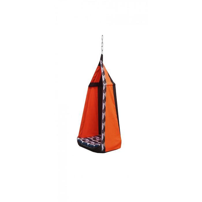 """Гамак тканевый """"Перфекто"""" оранжево-коричневый, 56 х 56 х 150 см"""