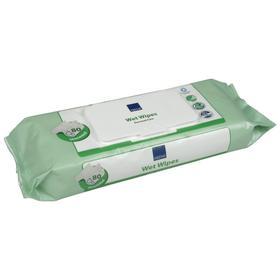 Влажные очищающие салфетки Abena, 27х20, 80 шт