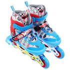 Роликовые коньки Hot Wheels, PU колёса со светом, размер XS (26-29) - Фото 2