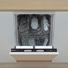 Посудомоечная машина Candy CDIH 2L1047-08, встраиваемая, класс А, 10 комплектов, 5 программ   692403 Ош