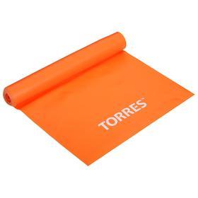 """Эспандер """"TORRES латексная лента""""  арт.AL0020/21,длина 120 см, шир.15 см, сопротивление 4 кг"""