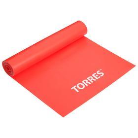 """Эспандер """"TORRES латексная лента"""" арт. AL0020,длина 120 см, шир.15 см, сопротивление 8 кг.,"""