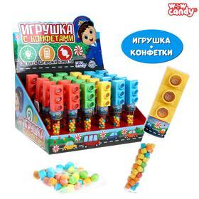Игрушка с конфетками «Светофор», Микс