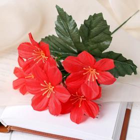 Цветы искусственные 'Незабудки' 22см Ош