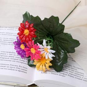 Цветы искусственные 'Ромашки' 21см Ош