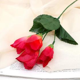 Цветы искусственные 'Тюльпаны мини' 24см Ош