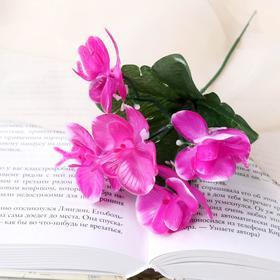 Цветы искусственные 'Орхидея' 21см Ош