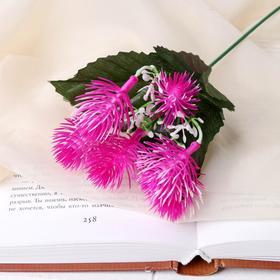 Цветы искусственные 'Пушистики' 28см Ош