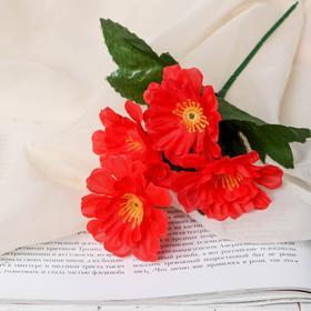 Цветы искусственные 'Фиалка' 21см микс Ош