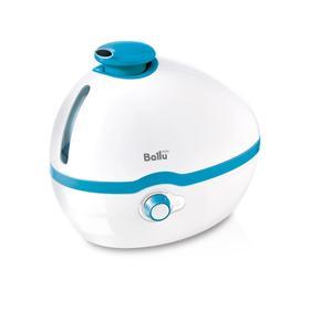 Увлажнитель воздуха Ballu UHB-100, ультразвуковой, 25 Вт, 1 л, 10 м2, белый/голубой
