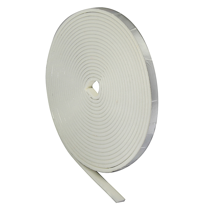 Уплотнитель для окон, 8х4 мм, пенополиэтилен, в упаковке 18 м