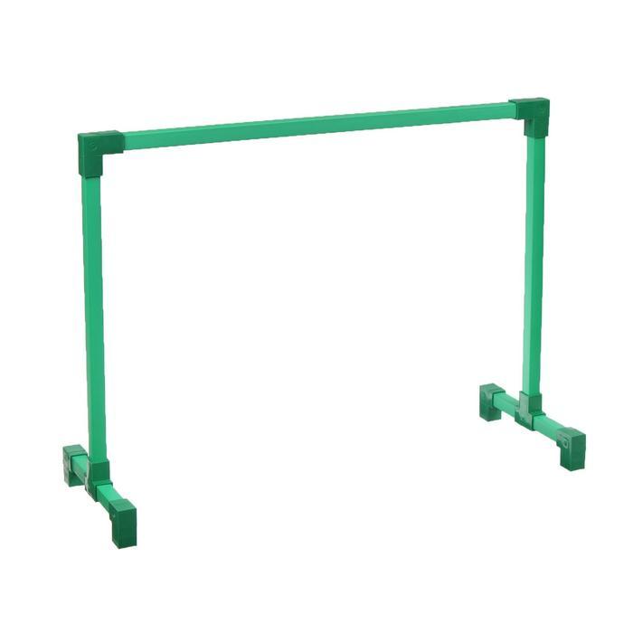 Подставка для фитолампы, 71 × 51 × 26 см, труба d = 22 мм, зелёная
