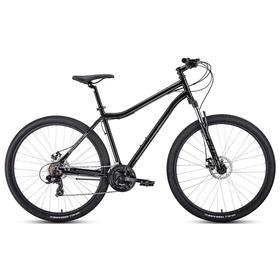 Велосипед 29' Forward Sporting 2.2 disc, цвет черный/темно-серый, размер 21' Ош