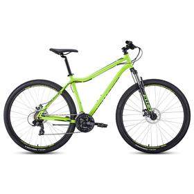 Велосипед 29' Forward Sporting 2.2 disc, цвет ярко-зеленый/черный, размер 21' Ош