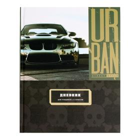 Дневник универсальный для 1-11 классов Street auto, обложка мелованный картон, матовая ламинация, блок офсет, 40 листов
