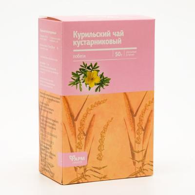 Курильский чай кустарниковый, побеги, 50 г - Фото 1